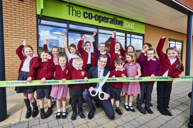 Opening of Midcounties Co-Op on the Kingsmere estate in Bicester. The cooperative has been nominated to this year's Local Business Charity Award.