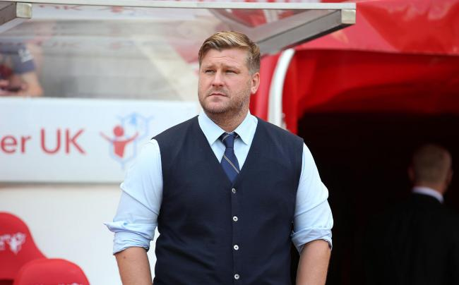 Oxford United head coach Karl Robinson is still seeking three additions to the squad Picture: Richard Parkes