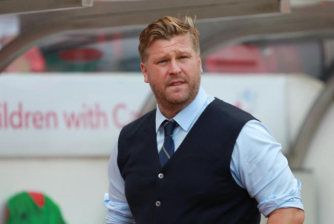 Oxford United boss Karl Robinson   Picture: Richard Parkes