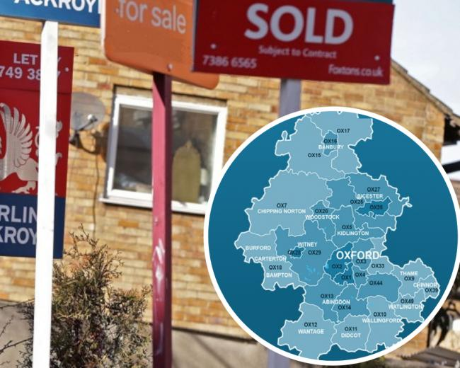 Is your house worth less than you think? EVERY OX postcode ranked