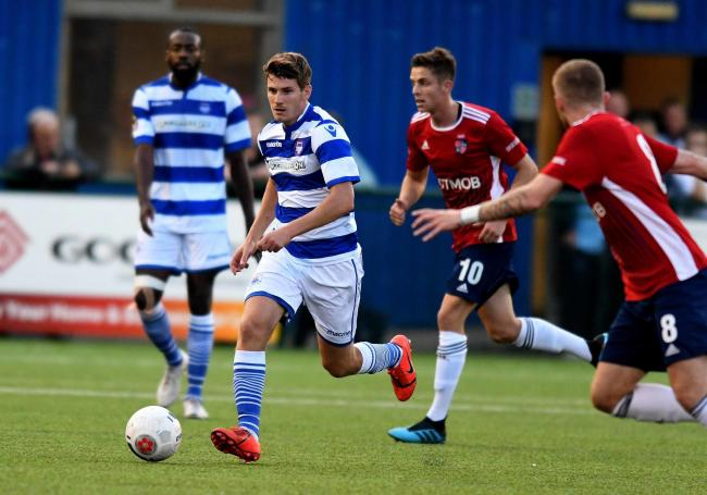 Josh Ashby has signed a new deal at Oxford City Picture: Mike Allen