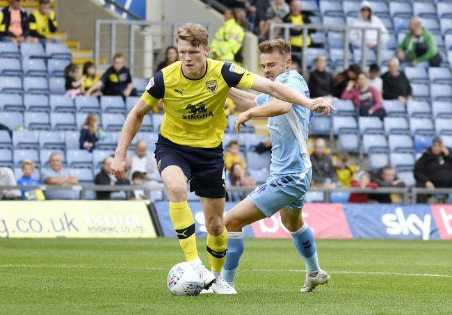 Rob Dickie only has 12 months left on his Oxford United contract     Picture: David Fleming