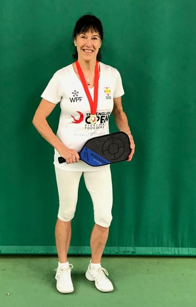 Anna Cherry is a national pickleball champion Picture: Daniela Jenkins