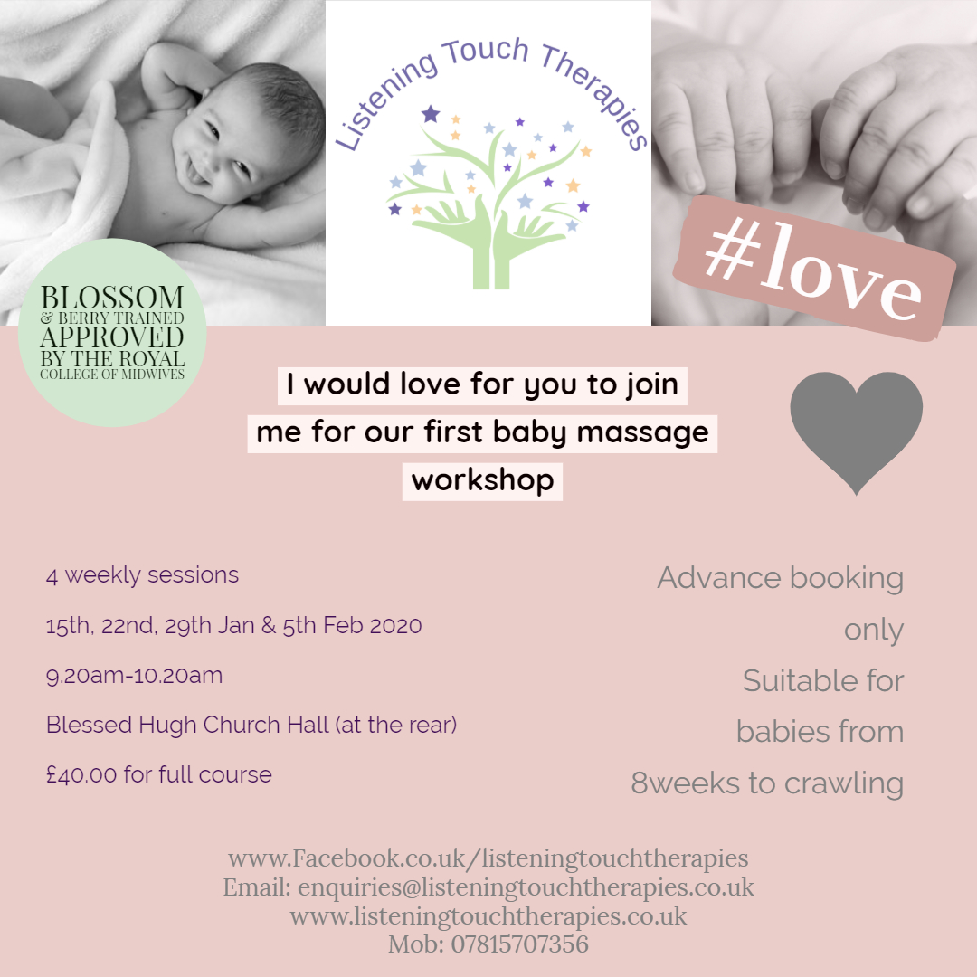 Baby Massage 4-Week Workshop