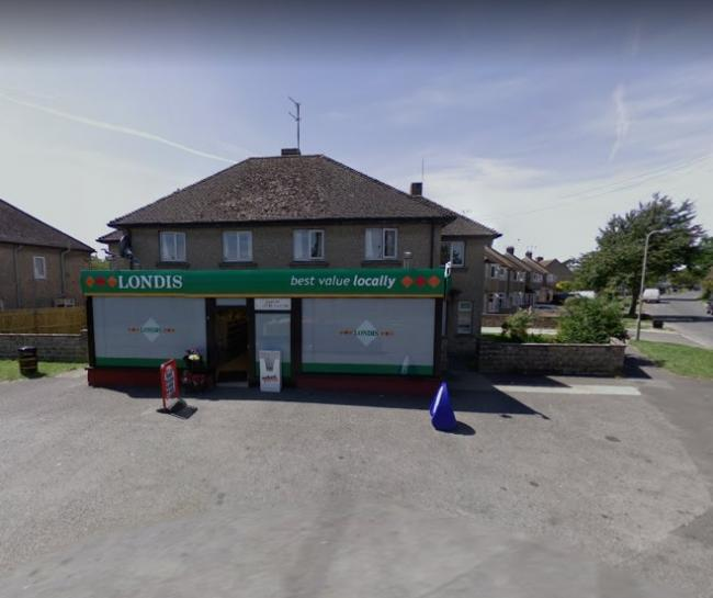 The Londis convenience store in Hailey Road, Witney