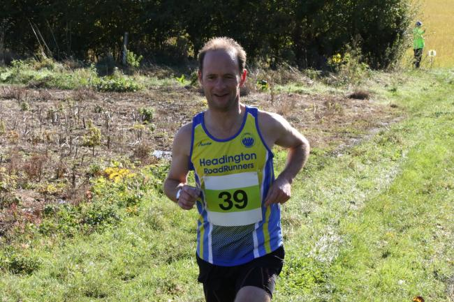 James Eve won the Ascott-under-Wychwood 10k  Picture: Barry Cornelius