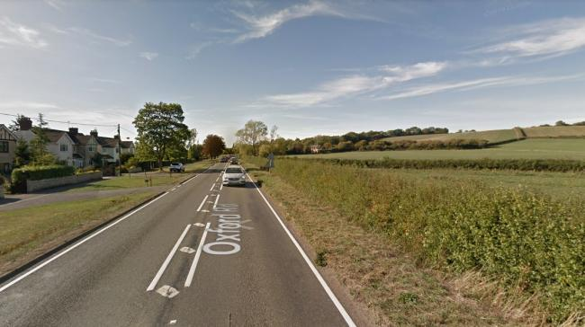 The B4044 near Farmoor. Picture: Google Maps.