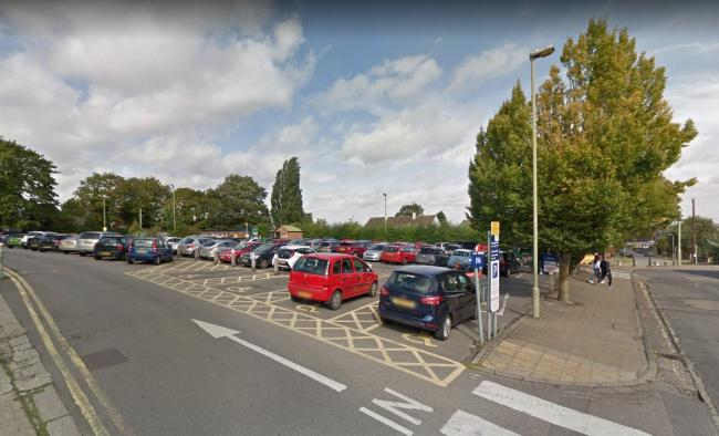 Edinburgh Drive car park in Didcot. Picture: Google Maps