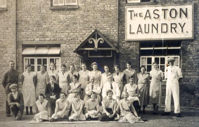 The Aston Laundry is being researched by the Aston History Group Picture: Aston History Group