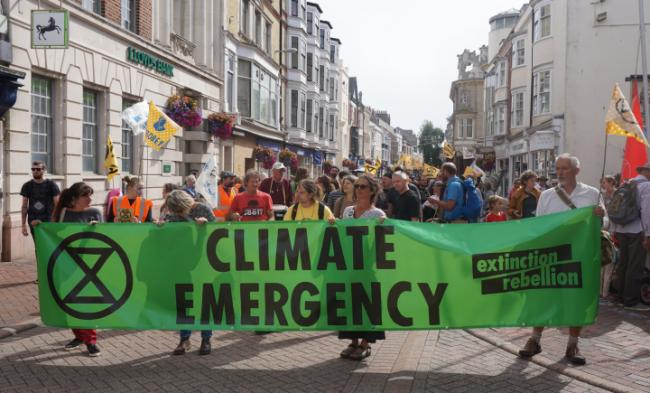 Extinction Rebellion protests have taken place across the country this year