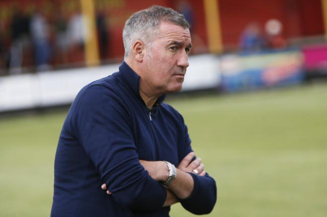 Banbury United boss Mike Ford Picture: Ed Nix