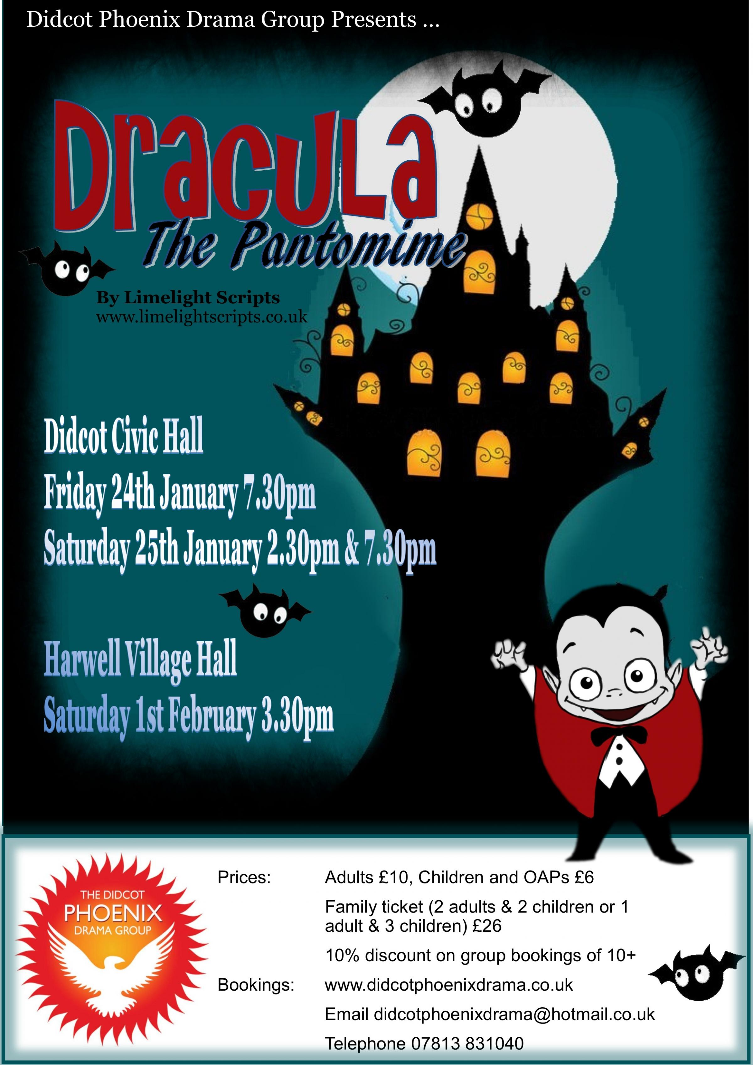 Dracula - The Pantomime