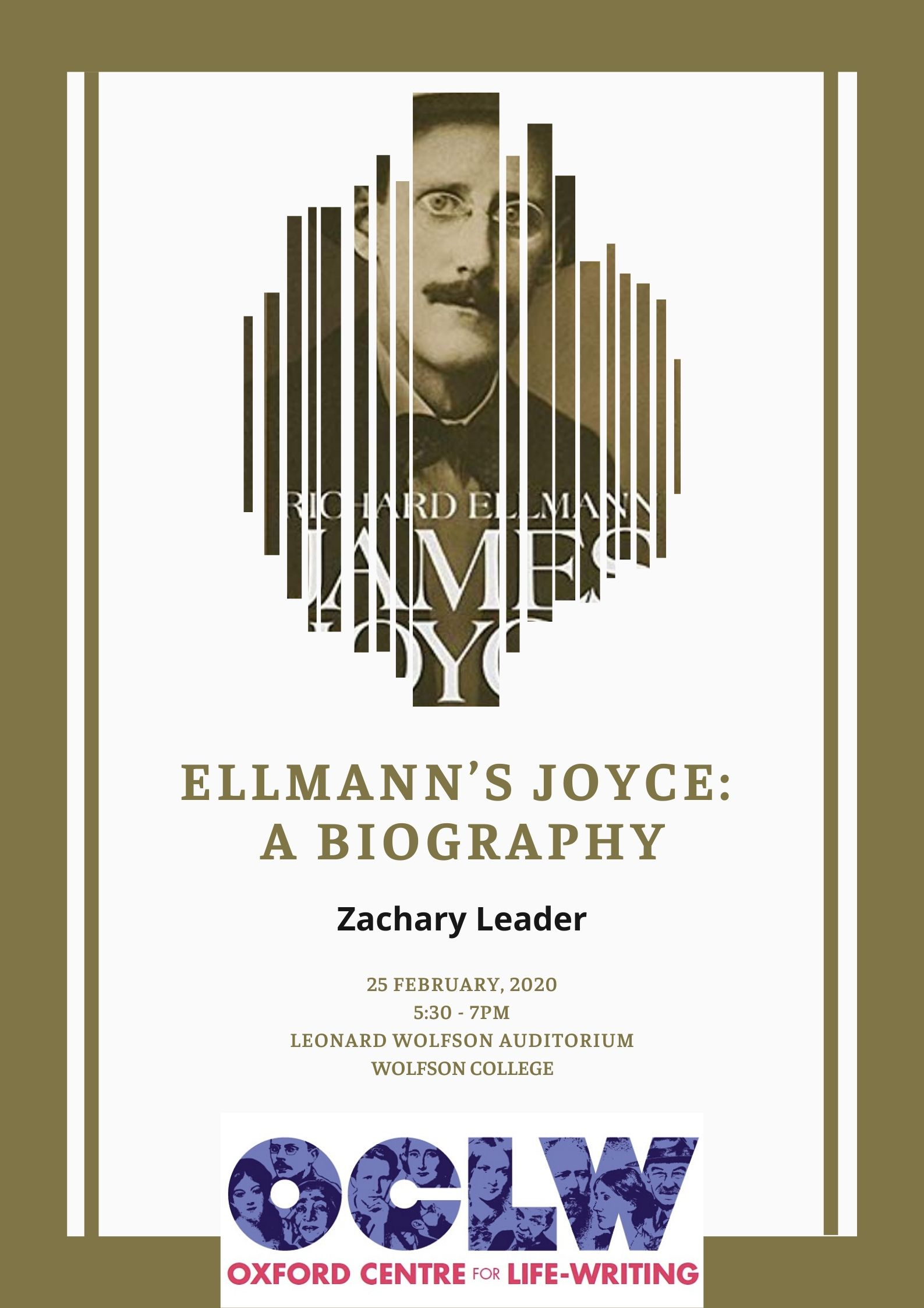 Zachary Leader on Ellmann's Joyce: A Biography