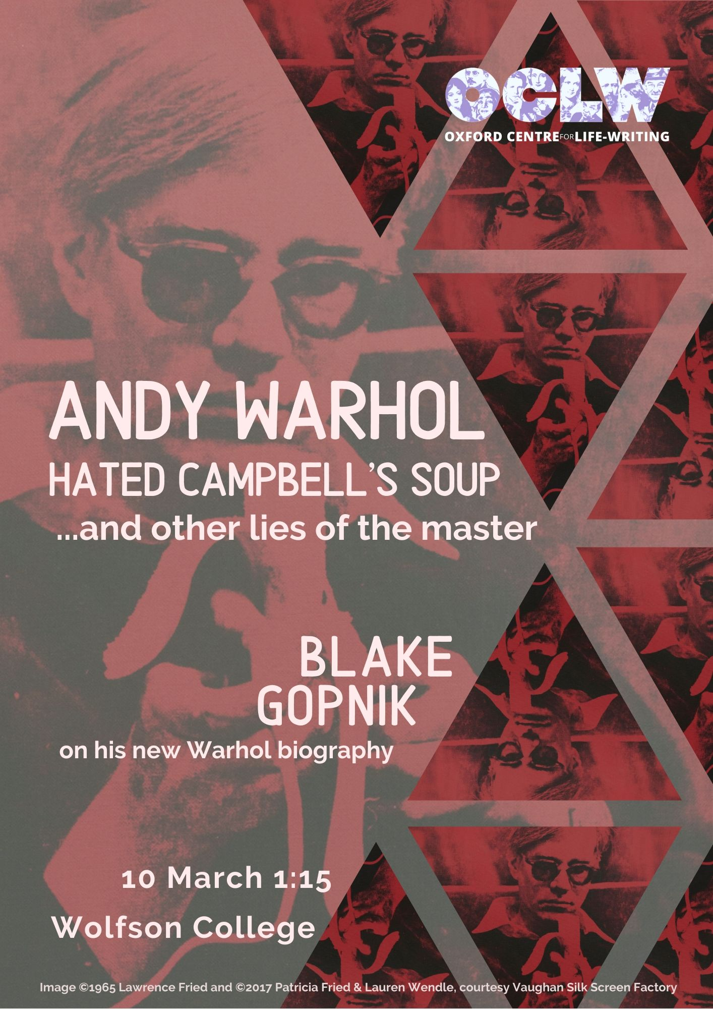 Andy Warhol Hated Campbell's Soup… and other lies of the master