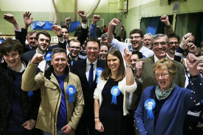 General Election 2019: Witney with Robert Courts win Picture by Ed Nix