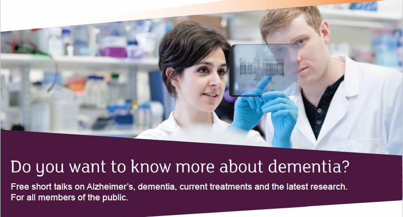Alzheimer's Research UK Public Event
