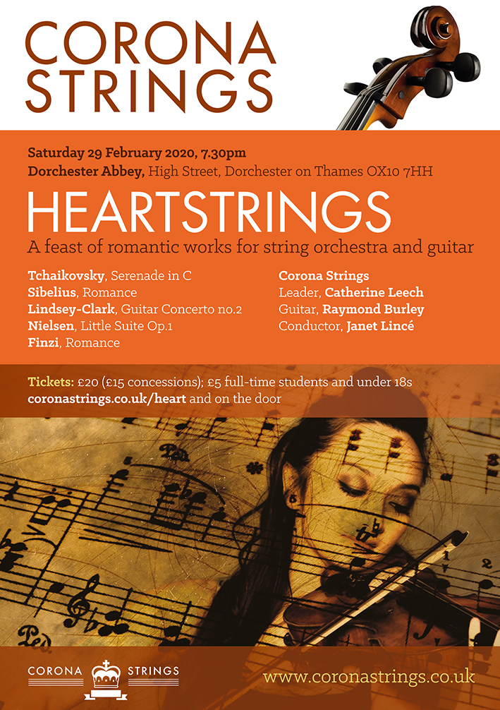 Heartstrings: A Feast of Romantic Works for String Orchestra and Guitar
