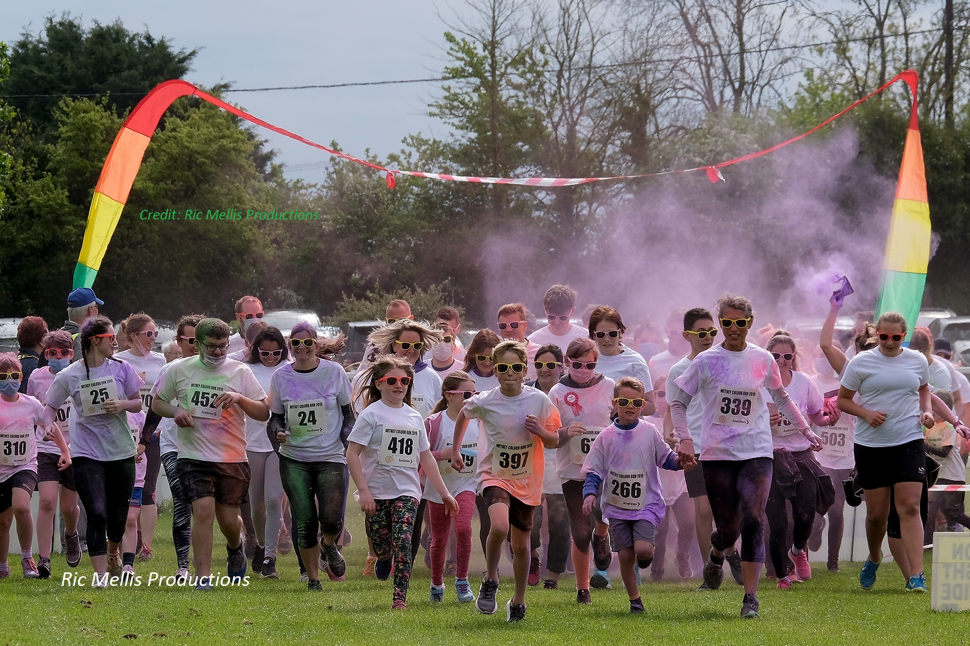 Witney Colour Run 2020