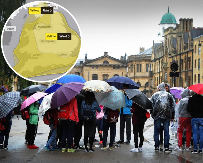 Oxford looks set for more heavy rain