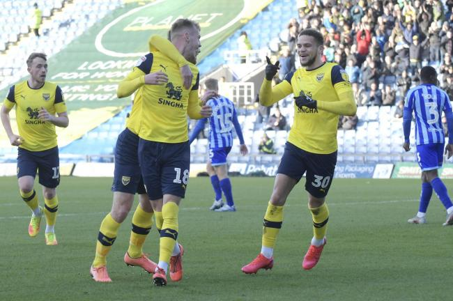 Oxford United celebrate scoring in the win against Blackpool earlier this month   Picture: David Fleming