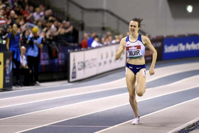 Laura Muir was in action in Glasgow over the weekend