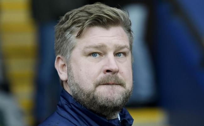 Oxford United head coach Karl Robinson  Picture: David Fleming