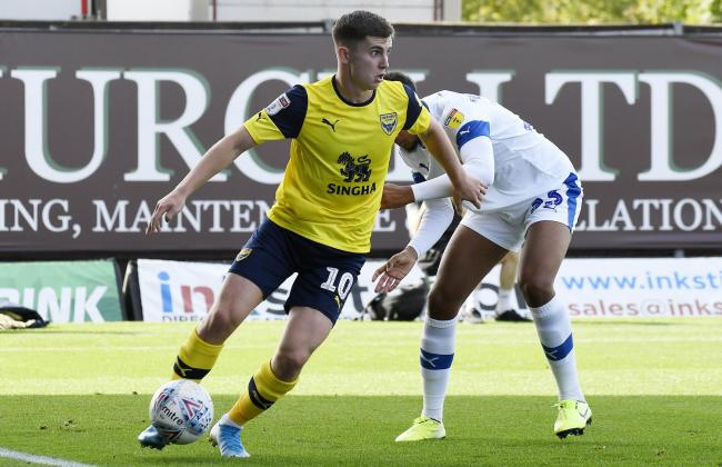 Ben Woodburn made 13 appearances for Oxford United before his injury   Picture: David Fleming