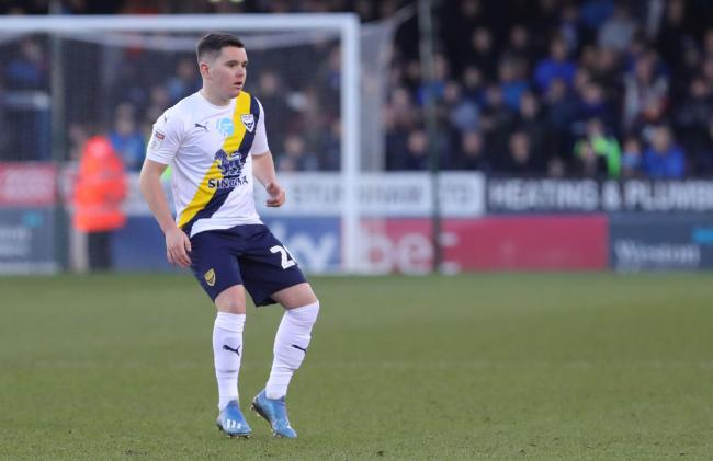 Liam Kelly has made four appearances for Oxford United since signing on loan last month   Picture: Richard Parkes