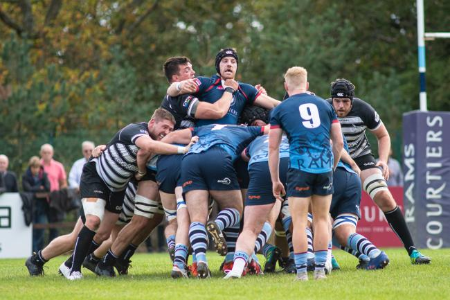 Rams in action against Chinnor earlier this season Picture: David Howlett
