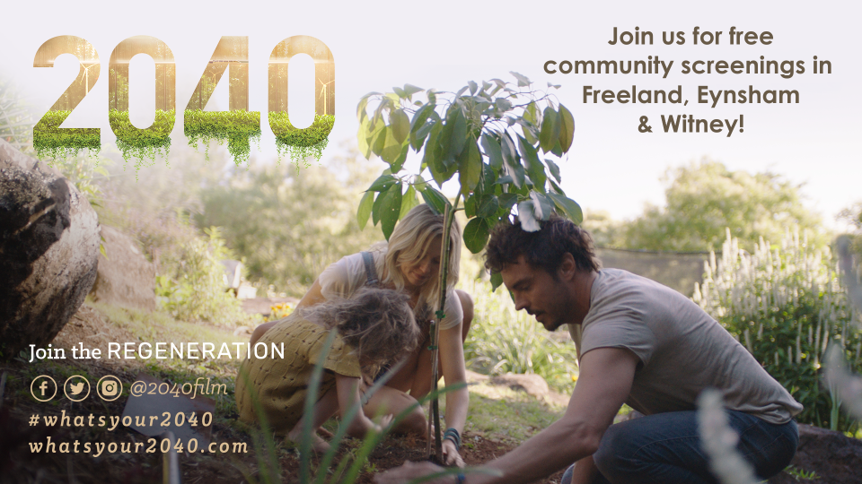 Witney: free film screening of 2040