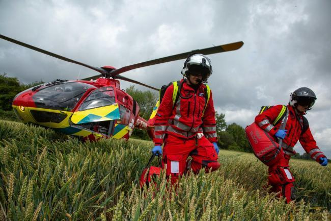 Thames Valley Air Ambulance Picture Alex Gower-Jackson