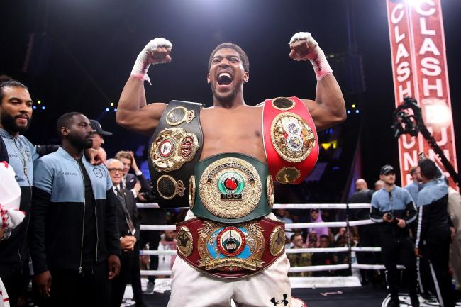 Anthony Joshua reclaimed the IBF, WBA, WBO & IBO World Heavyweight Championship