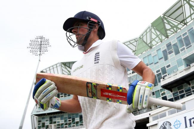 Sir Alastair Cook became England's top Test scorer in 2015.