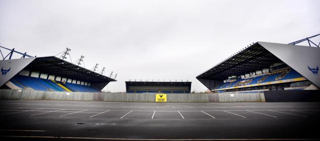 Strict measures will be in place at the Kassam Stadium to protect players and staff   Picture: Richard Cave