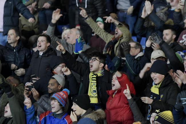 Oxford United supporters last season   Picture: David Fleming