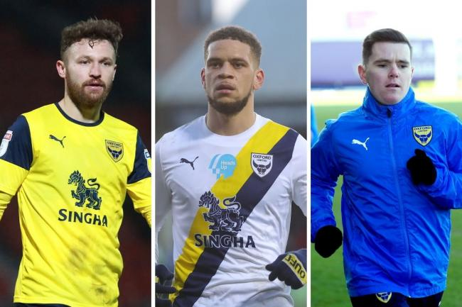 Oxford United transfer targets (from left): Matty Taylor, Marcus Browne and Liam Kelly     Pictures: David Fleming and Richard Parkes