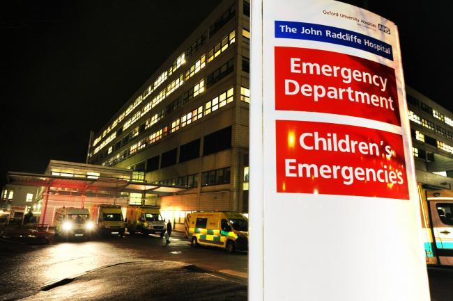 JR Hospital's Emergency Department. Picture: Jon Lewis