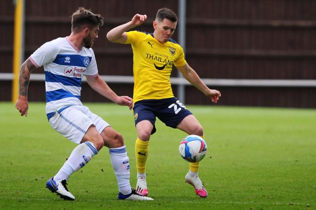 Liam Kelly says Oxford United must have belief in their style of play Picture: Ed Nix