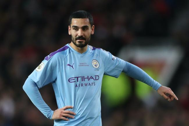 Manchester City midfielder Ilkay Gundogan has tested positive for Covid-19