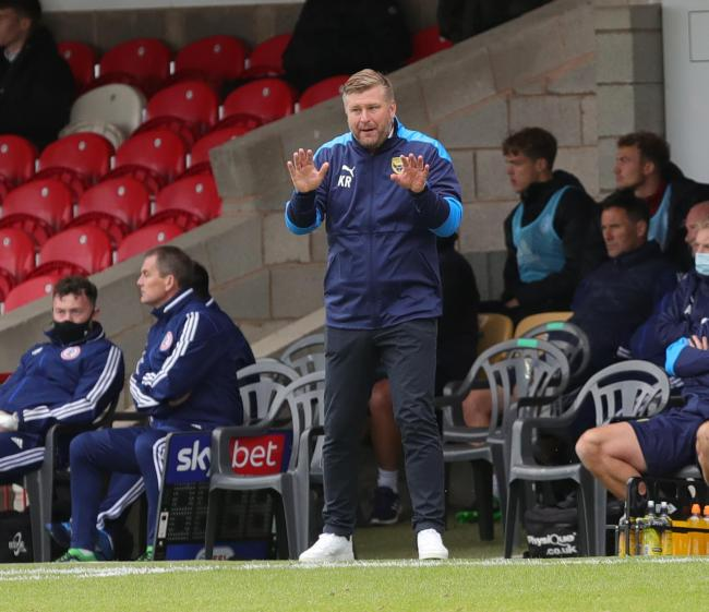 Karl Robinson will be looking for a balance between passion and calmness    Picture: Richard Parkes