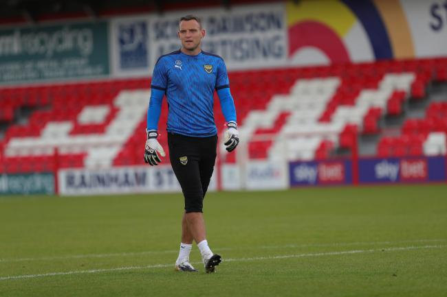 Simon Eastwood is looking for his first clean sheet of the season tomorrow – but is unlikely to watch the highlights even if it does come  Picture: Richard Parkes