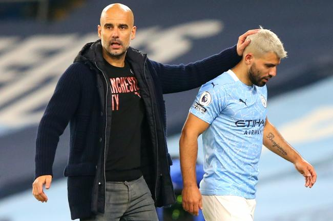 Pep Guardiola said Sergio Aguero must show he is worthy of a new Manchester City contract