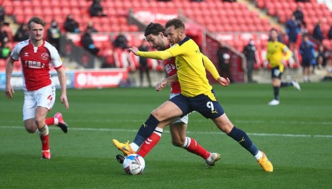 Matty Taylor believes Oxford United need to be better at the dark arts Picture: Richard Parkes
