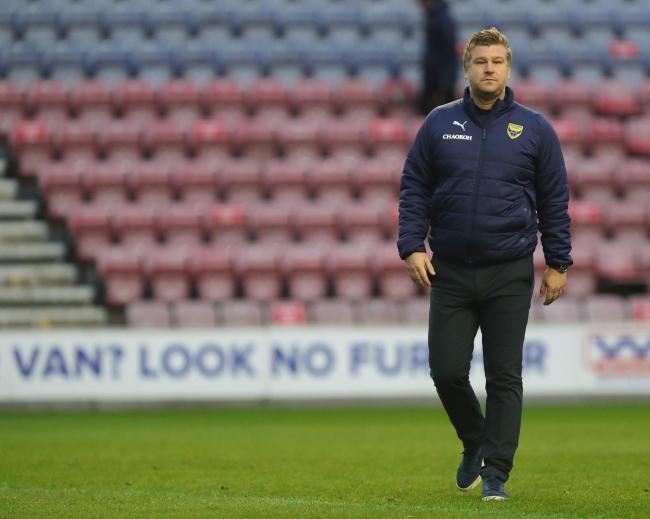 Karl Robinson Picture: Richard Parkes