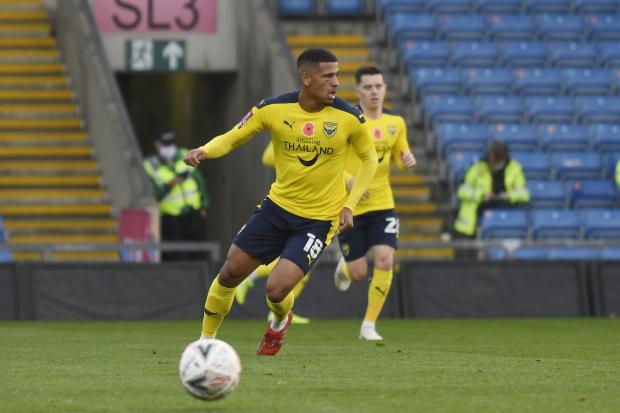Marcus McGuane has joined Oxford United for an undisclosed fee Picture: David Fleming