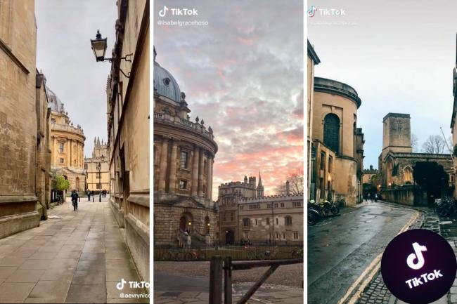 Videos of Oxford go viral on TikTok