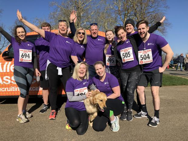 Witney Gazette: Oxford-based recruitment agency Allen Associates has sponsored the event since 2009 and is supporting the run once again. Staff ran the race in 2019.