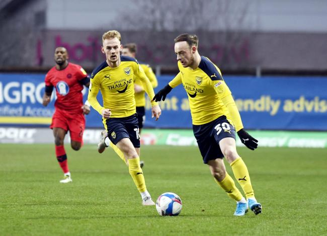 Brandon Barker has made five Oxford United appearances Picture: David Fleming