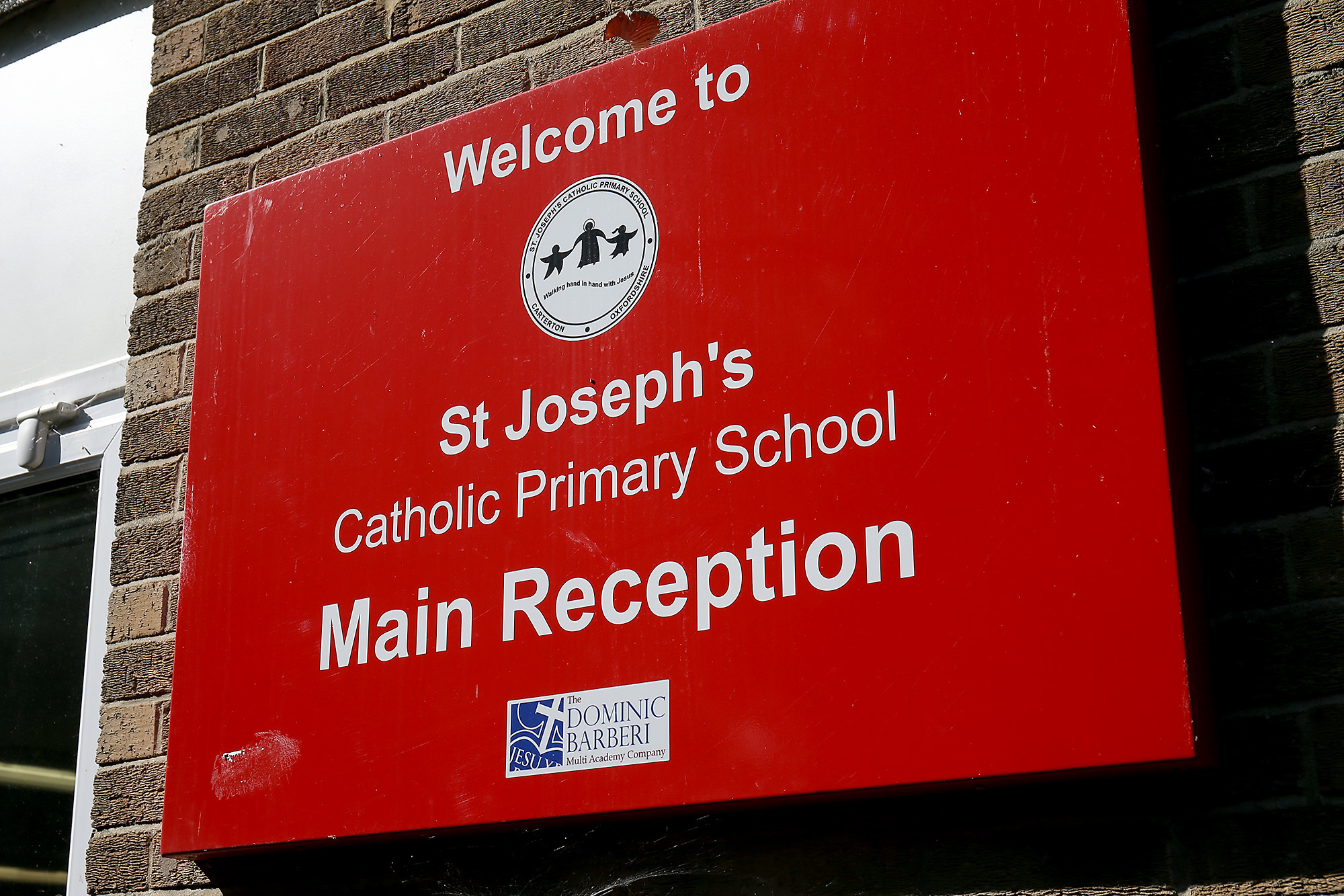 St Josephs Carterton.Picture: Ric Mellis.14/9/2017 St Josephs Catholic Primary School, Lawton Avenue, Carterton, OX18 3JY.