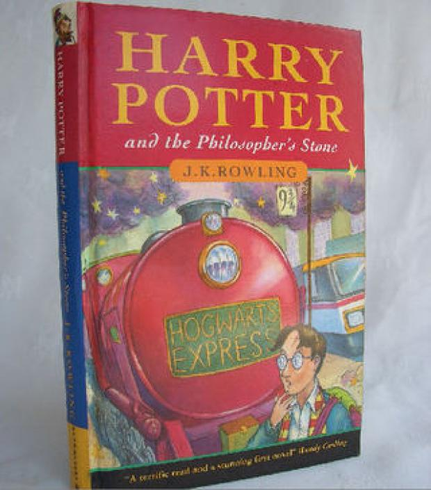 Rare Potter book found in street